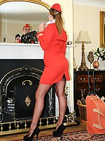 LOVE UNIFORMS : Sexy girls in nylons stockings dressed in uniform