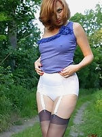 Outdoor Girdle & Nylon Flash
